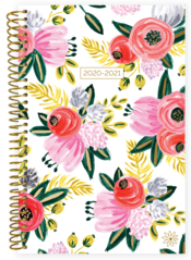2020-2021 Soft Cover Planner Rustic Blooms