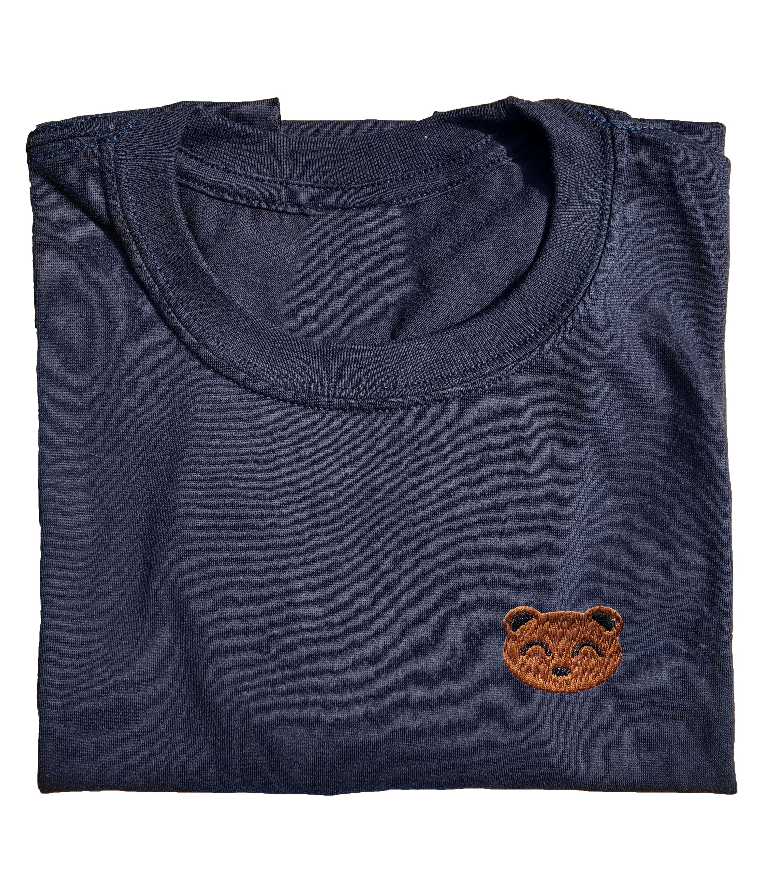 Embroidered Bear SS Tee
