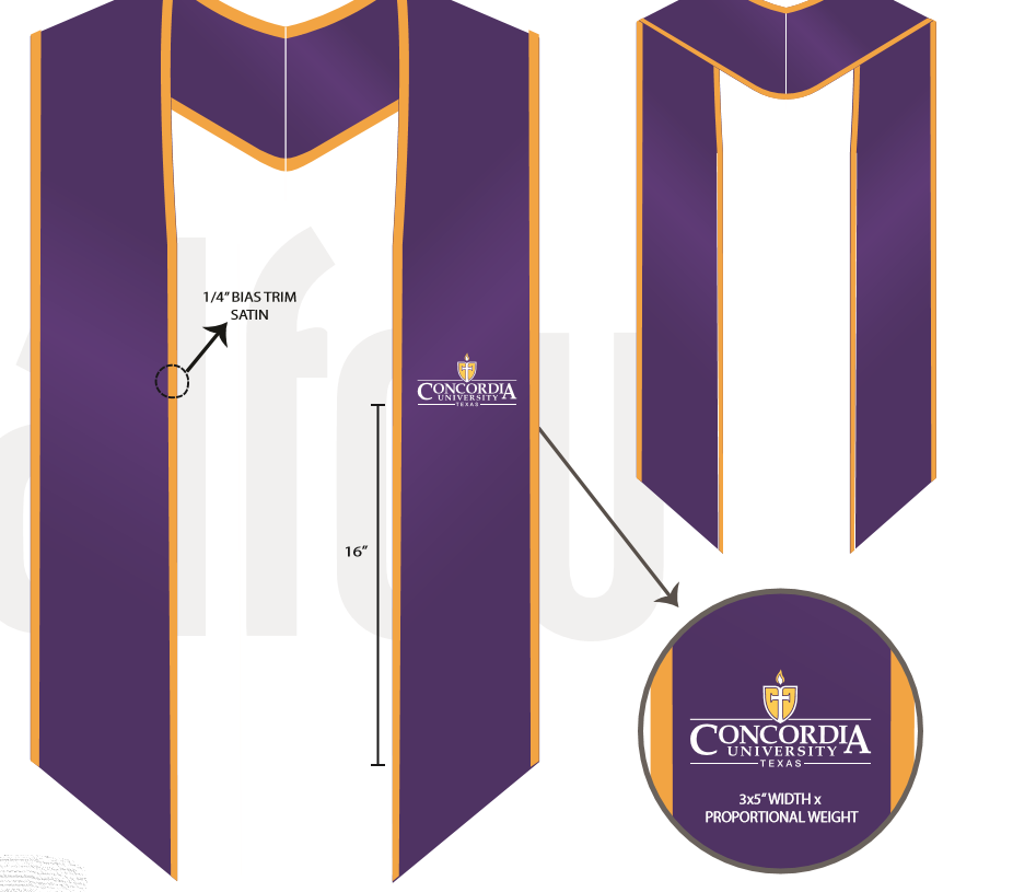 Nursing Graduation Stole