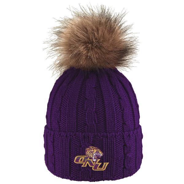 Alps Cuff Hat w/ Pom