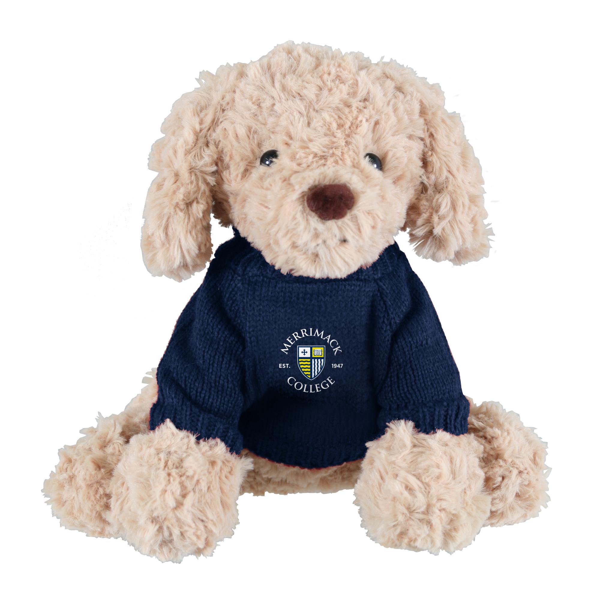 image of: Golden Stuffed Dog