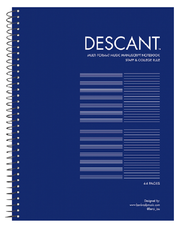 image of: RS Multi-format Music Notebook