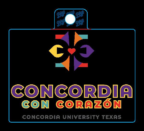 Concordia Con Corazon Sticker