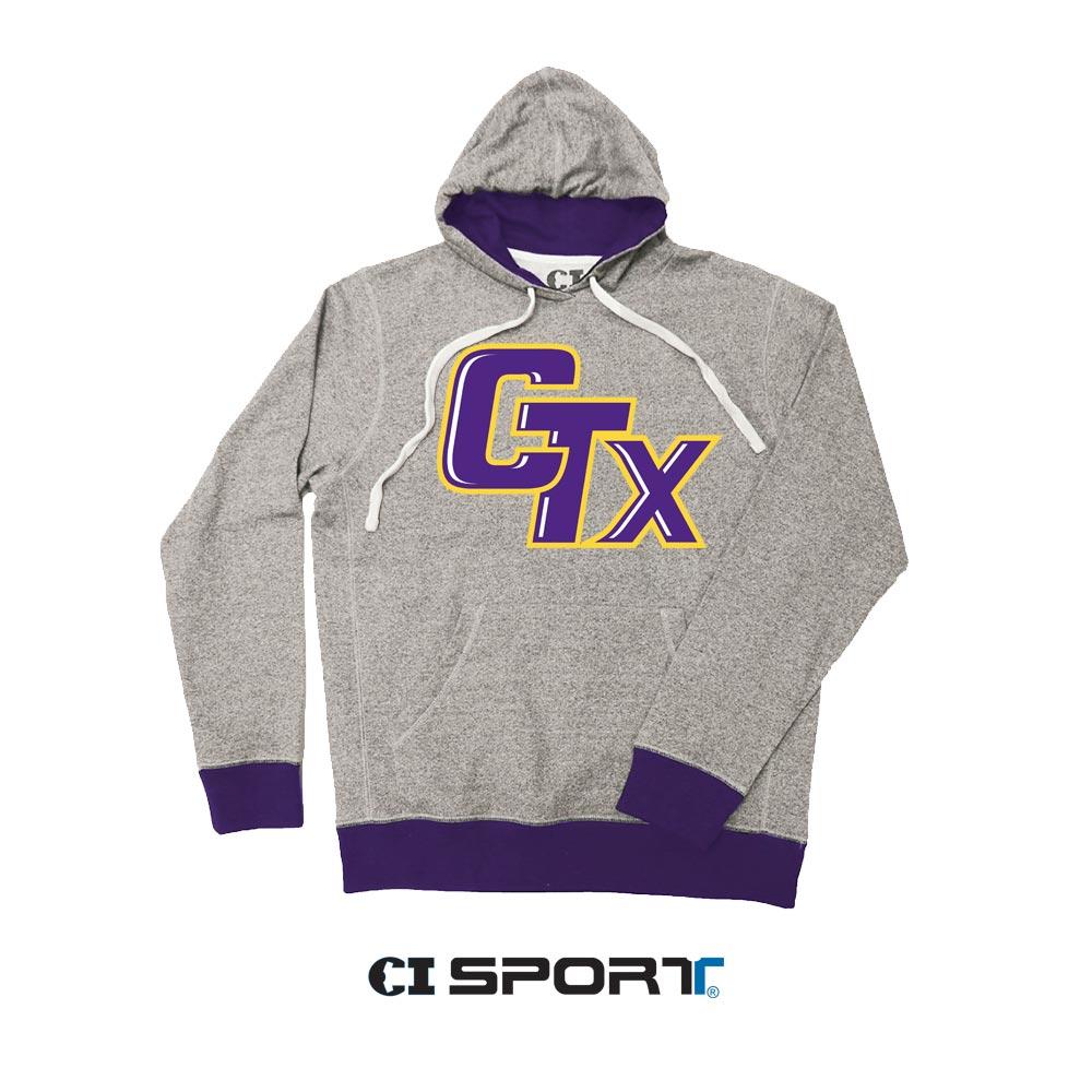 CI Sport Speckled Hoodie - Purple
