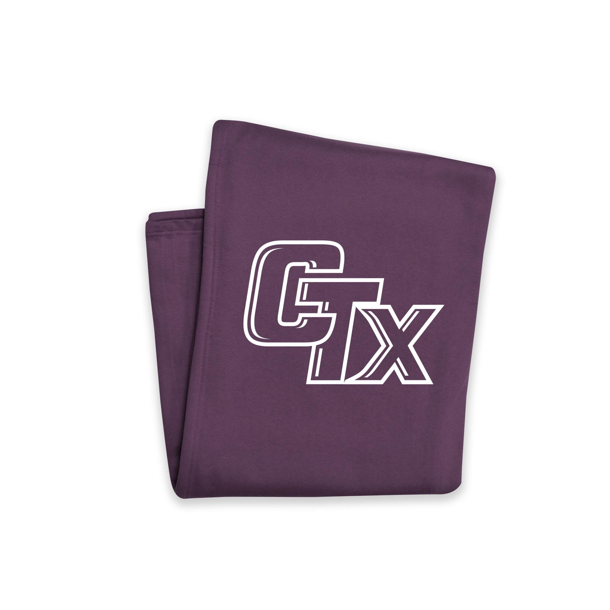 CTX Sweatshirt Blanket - Vintage Purple