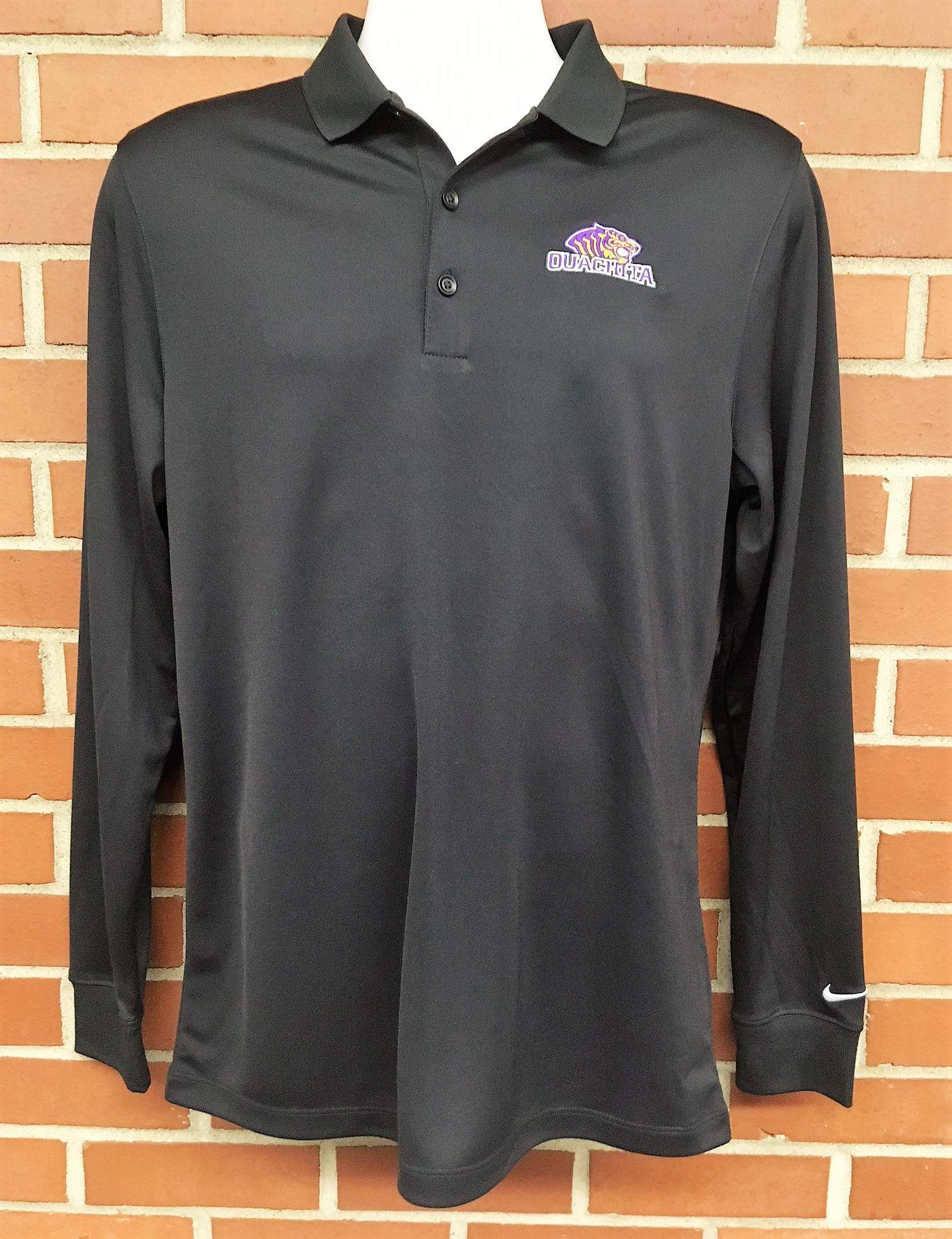 image of: OUACHITA LONG SLEEVE VICTORY POLO