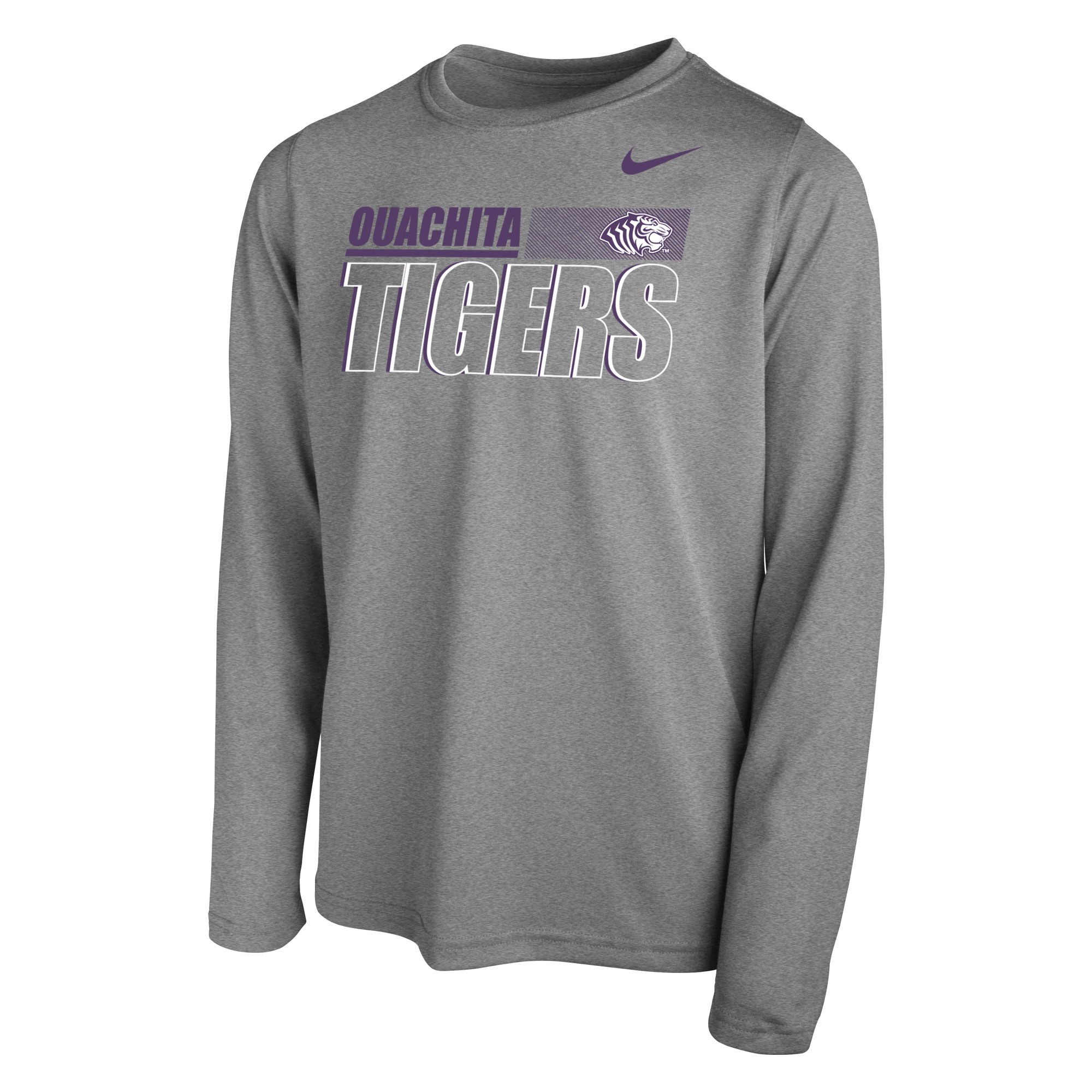 OUACHITA TIGERS NIKE LEGEND YOUTH LS TEE