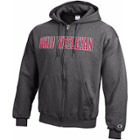 Image for the Unisex Full Zip Granite Heather Hooded Jacket product