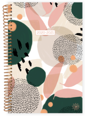 2020-2021 Soft Cover Planner Modern Abstract
