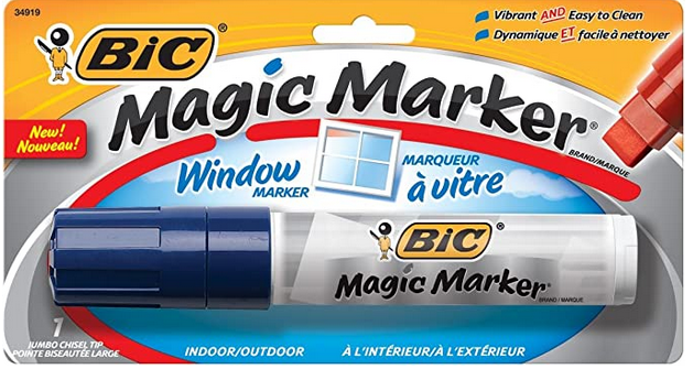 MAGIC BLUE WINDOW MARKER