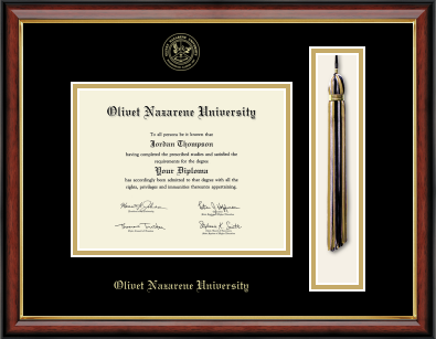 image of: Tassel Edition Diploma Frame in Southport Gold