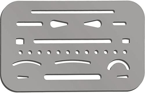 Pacific Arc Stainless Erasing Shield