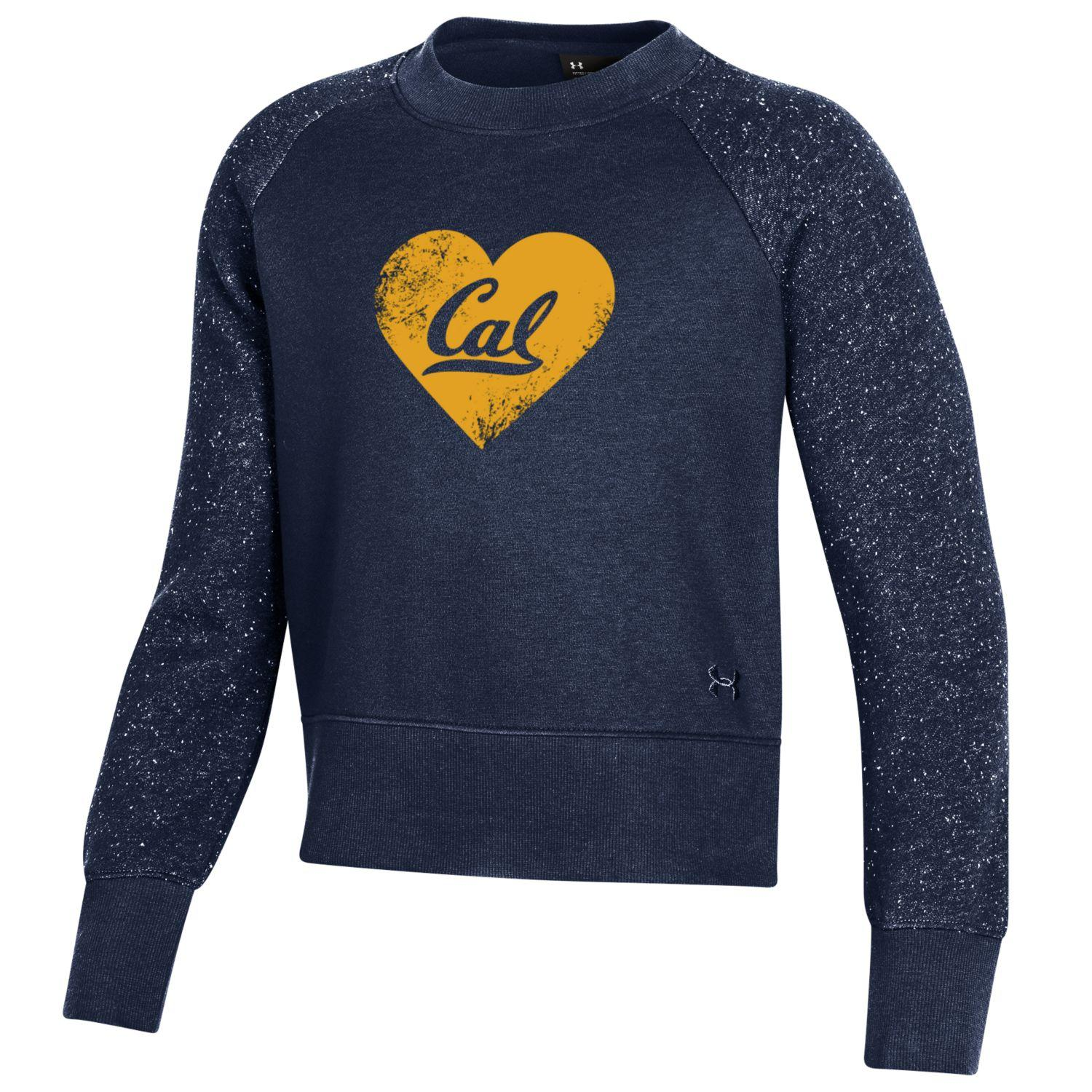 Youth G F20 All Day Fleece Crew Heart Cal