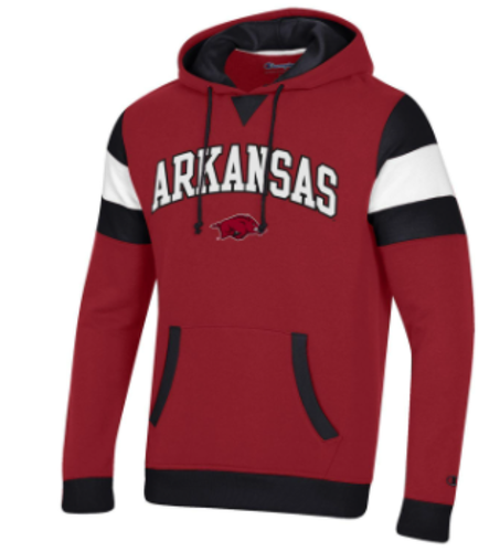 Arkansas Razorbacks Champion Branded Super Fan Hoodie - Cardinal