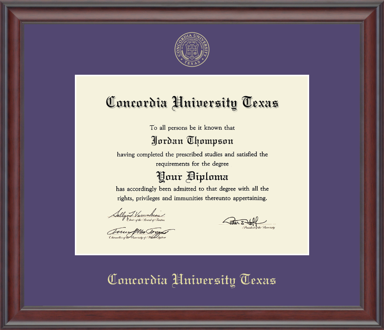 Detailed image of 11x14 Gold Embossed Diploma Frame