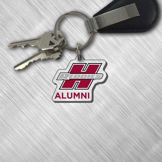 image of: Henderson Reddies Alumni Key Tag