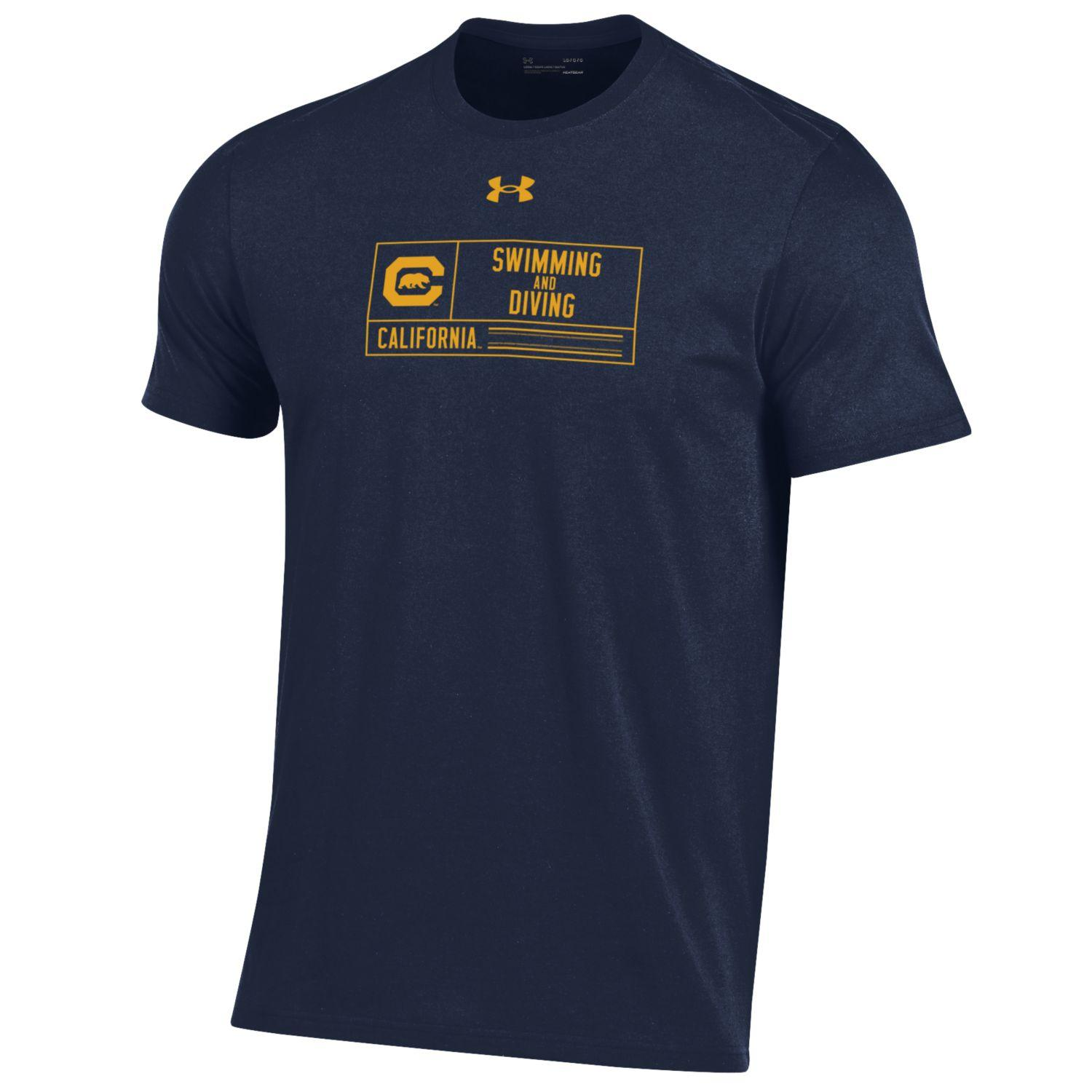 M Performance Cotton SS Swimming & Diving Tee