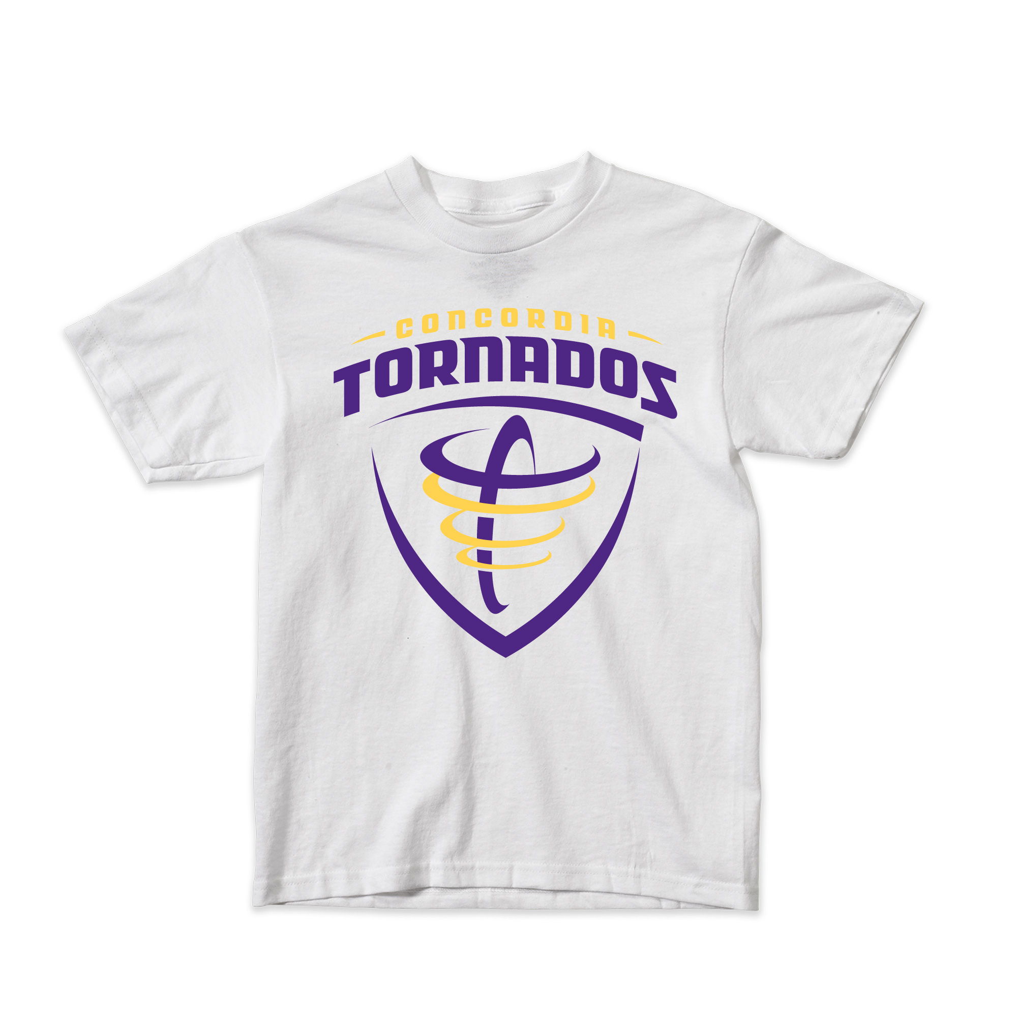 Youth Tornados Tee - White