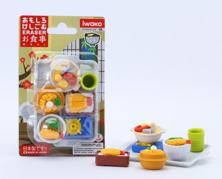BCMini Iwako Japanese Foods Eraser