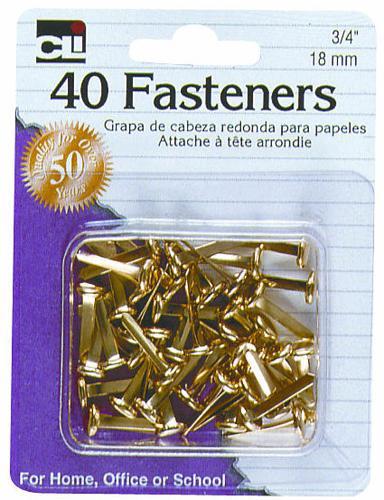 CLI Round Head Fasteners 40pk