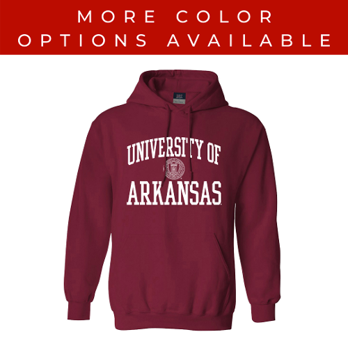 University of Arkansas Seal Fundamental Hoodie