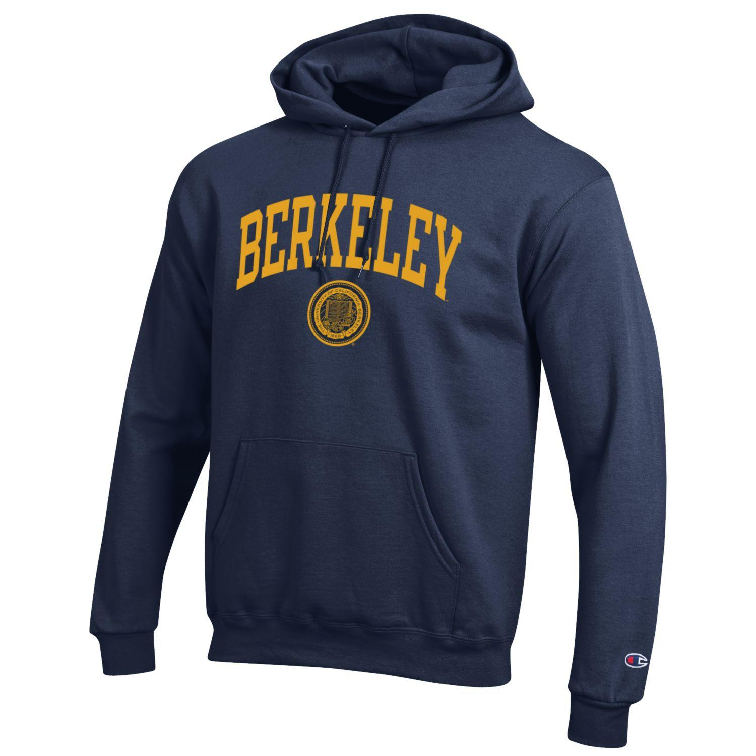 Image for M Powerblend Fleece Hood Berkeley Seal