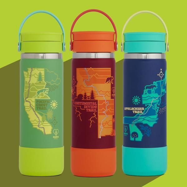 Hydro Flask 20oz Wide Mouth Flex Sip Lid Scenic Trails Limited Edition