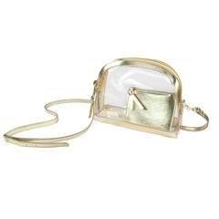 Detailed image of Halfmoon Crossbody Bag Capri Designs