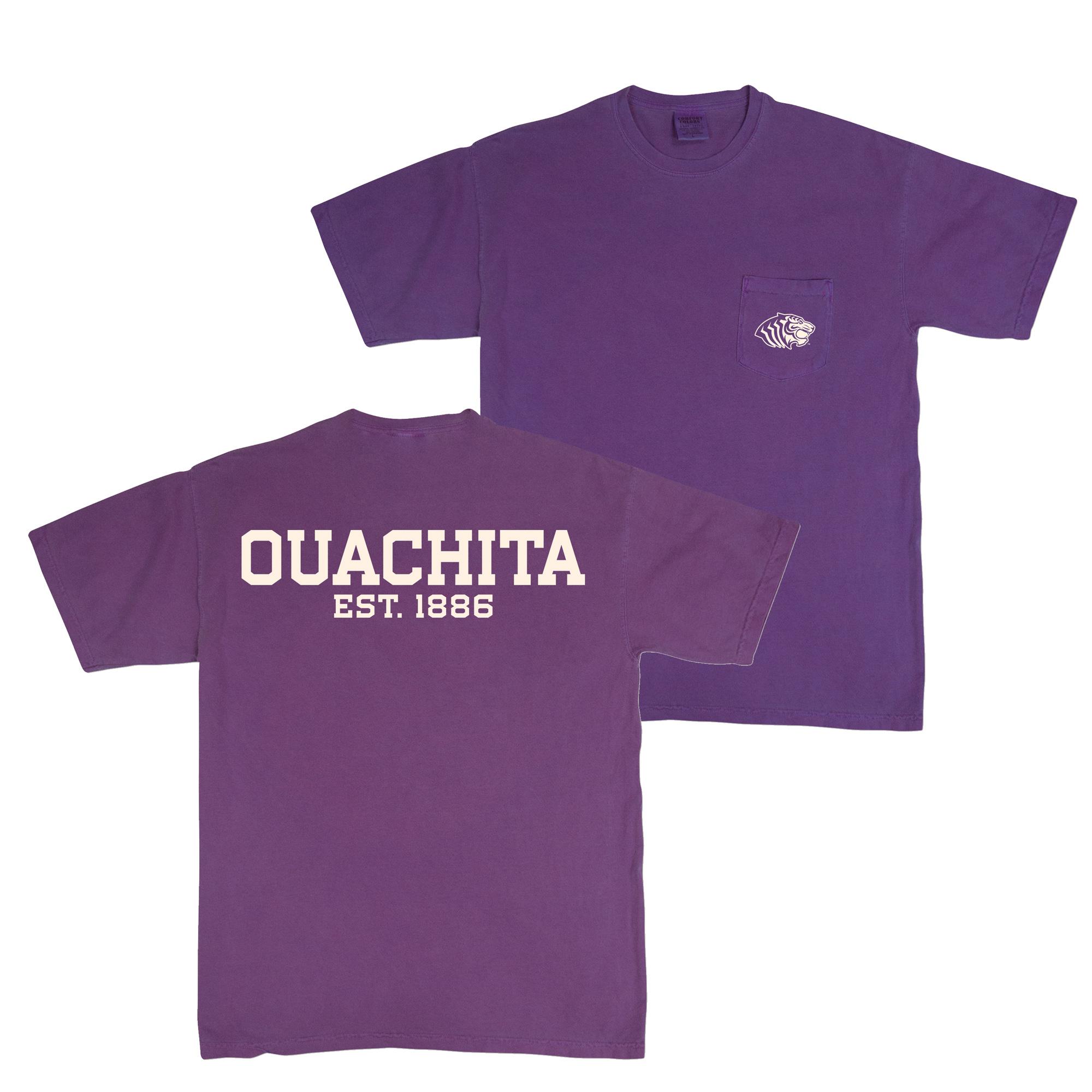 OUACHITA EST 1886 SS TEE