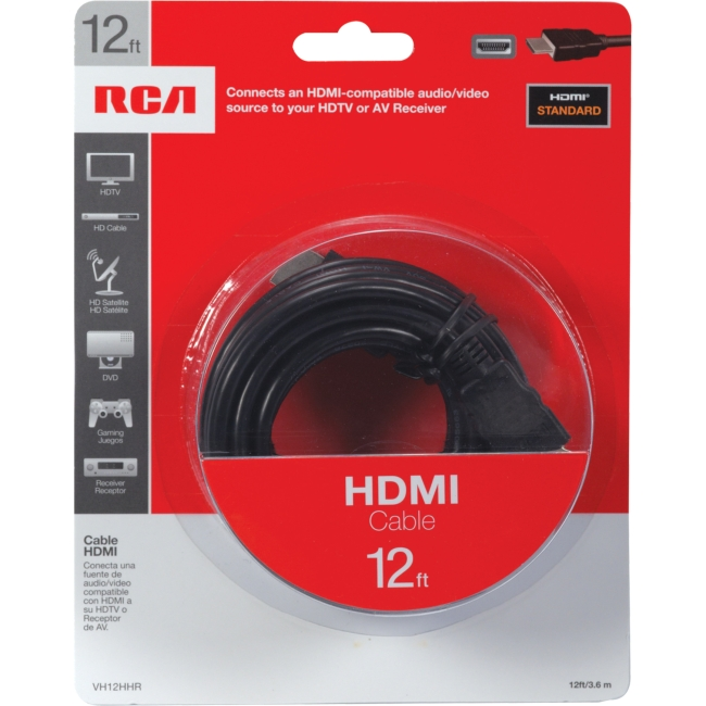 image of: RCA HDMI Cable 12 ft