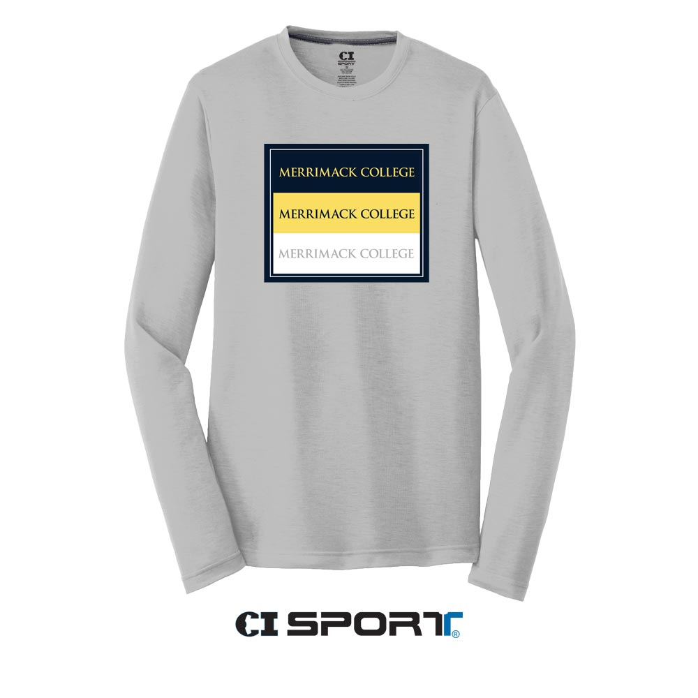 Athletic Silver Long Sleeve