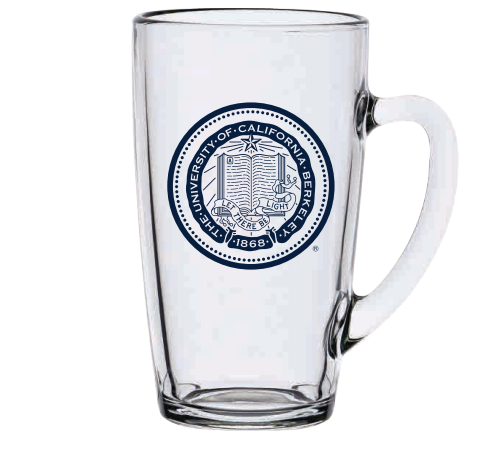 Mug 13.5oz Clear Rhodes Glass UCB Seal