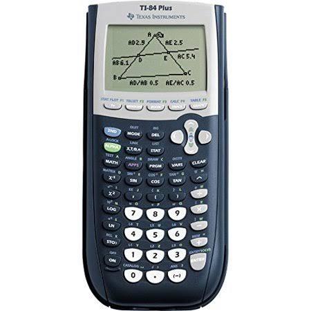 TI-84 PLUS GRAPHING CALCULATOR 033317208982