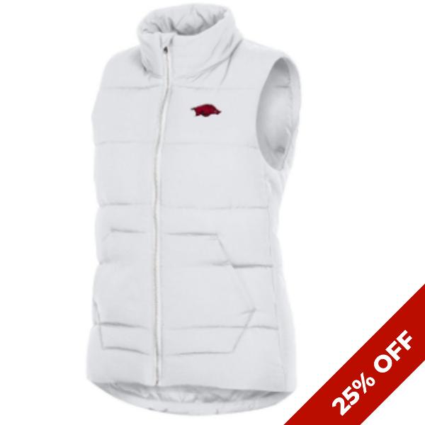 Arkansas Razorbacks Women's Champion MTO Puffer Vest