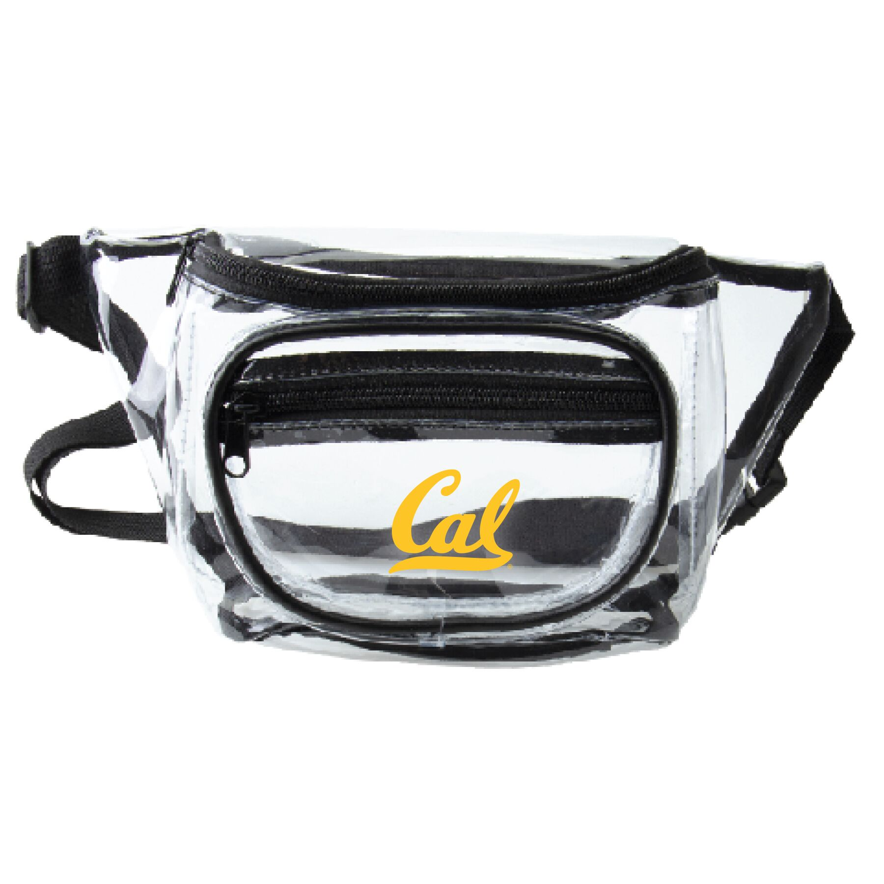 Detailed image of Clear Fanny Pack Cal Logo