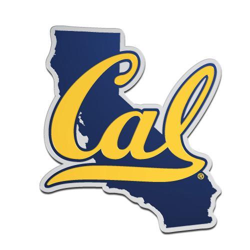Cal Bears Acrylic Auto Emblem