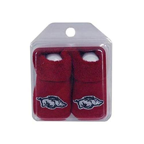 Arkansas Razorbacks Infant Booties