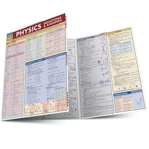 PHYSICS EQUATIONS & ANSWERS LAMINATED STUDY GUIDE