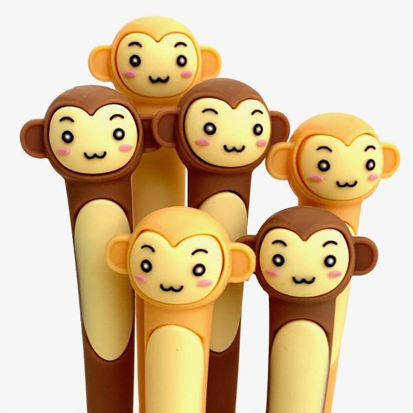 bcmini Monkey Gel Pen Assorted
