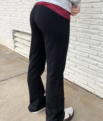 Arkansas Razorbacks Waist Banded Yoga Pants