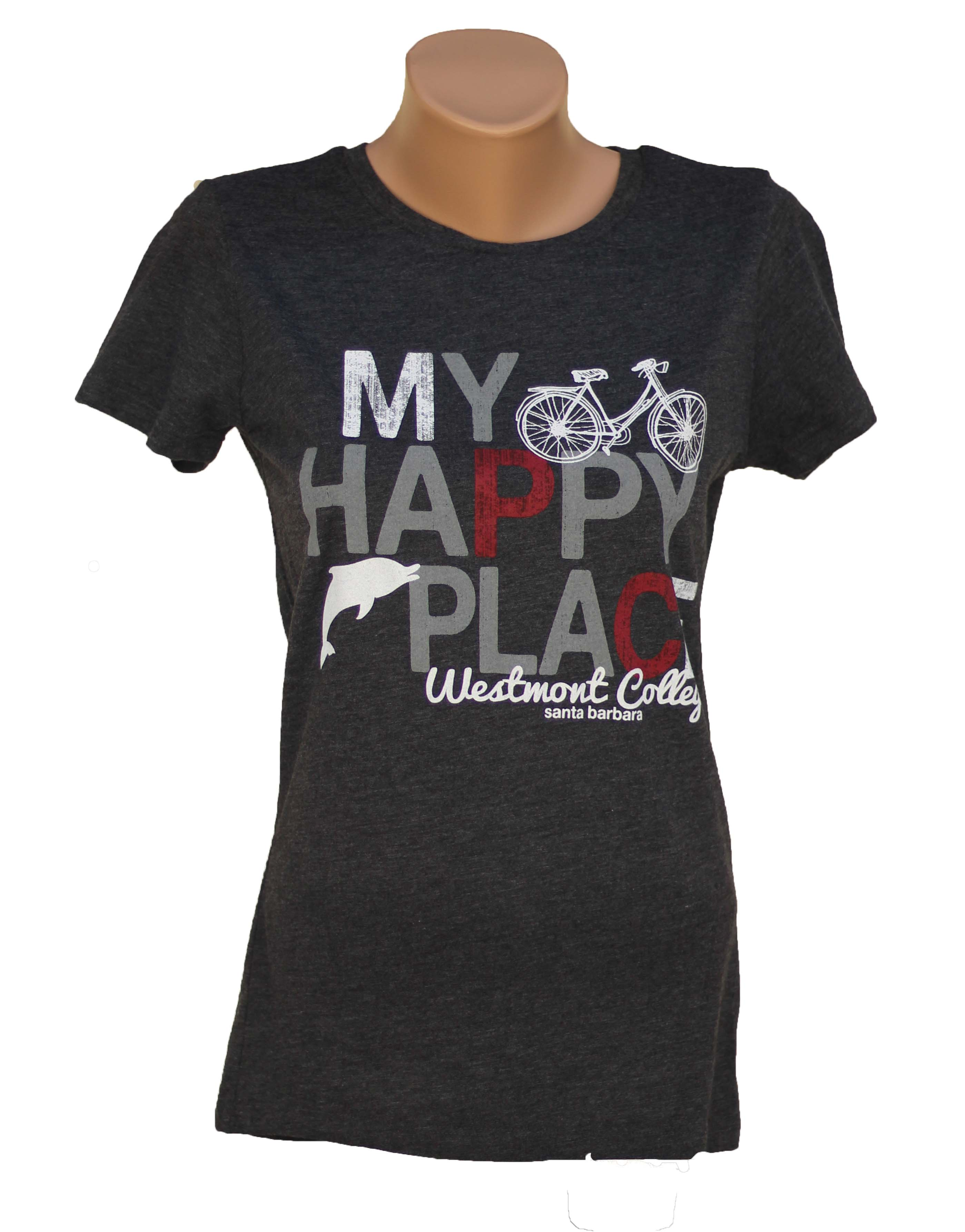 image of: Camp David My Happy Place Women's Tee