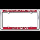 Image for the License Plate Ohio Wesleyan University Alumni product