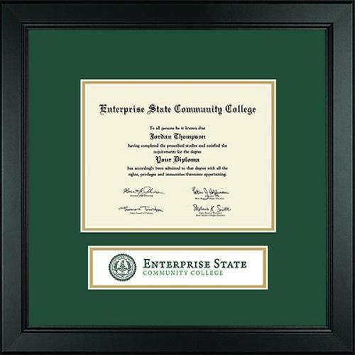 Lasting Memories Banner ESCC Diploma Frame