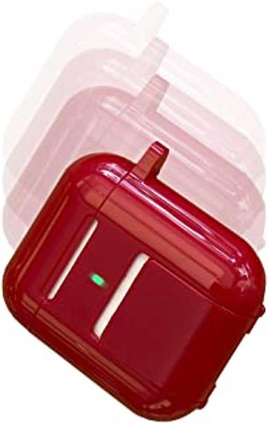 Square Jellyfish Kickstand for AirPods - Red Box
