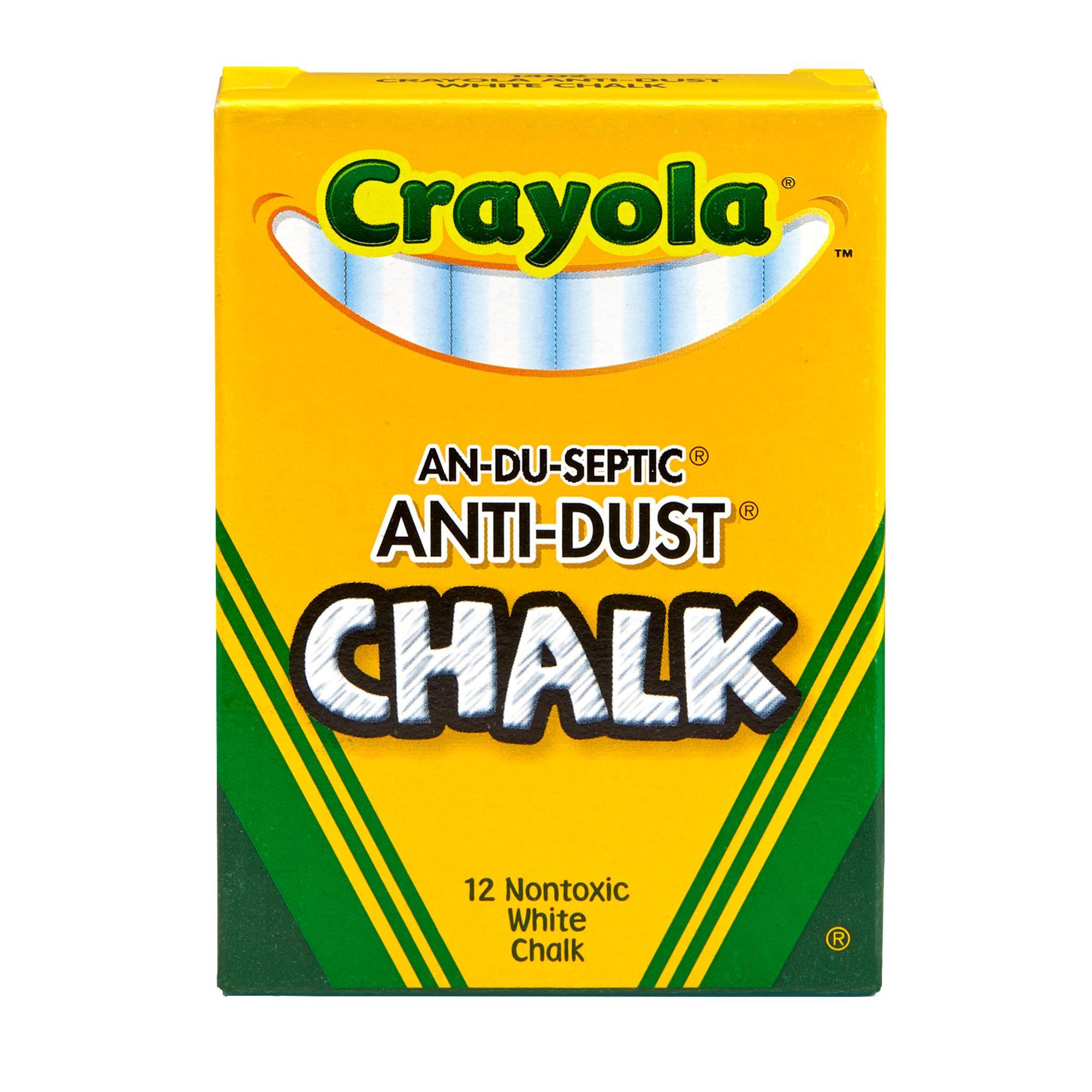 image of: Crayola White Anti-Dust Chalk