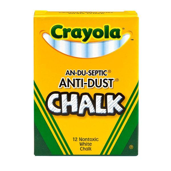 Crayola White Anti-Dust Chalk
