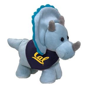 Mascot Factory Short Stacks Triceratops with Bandana