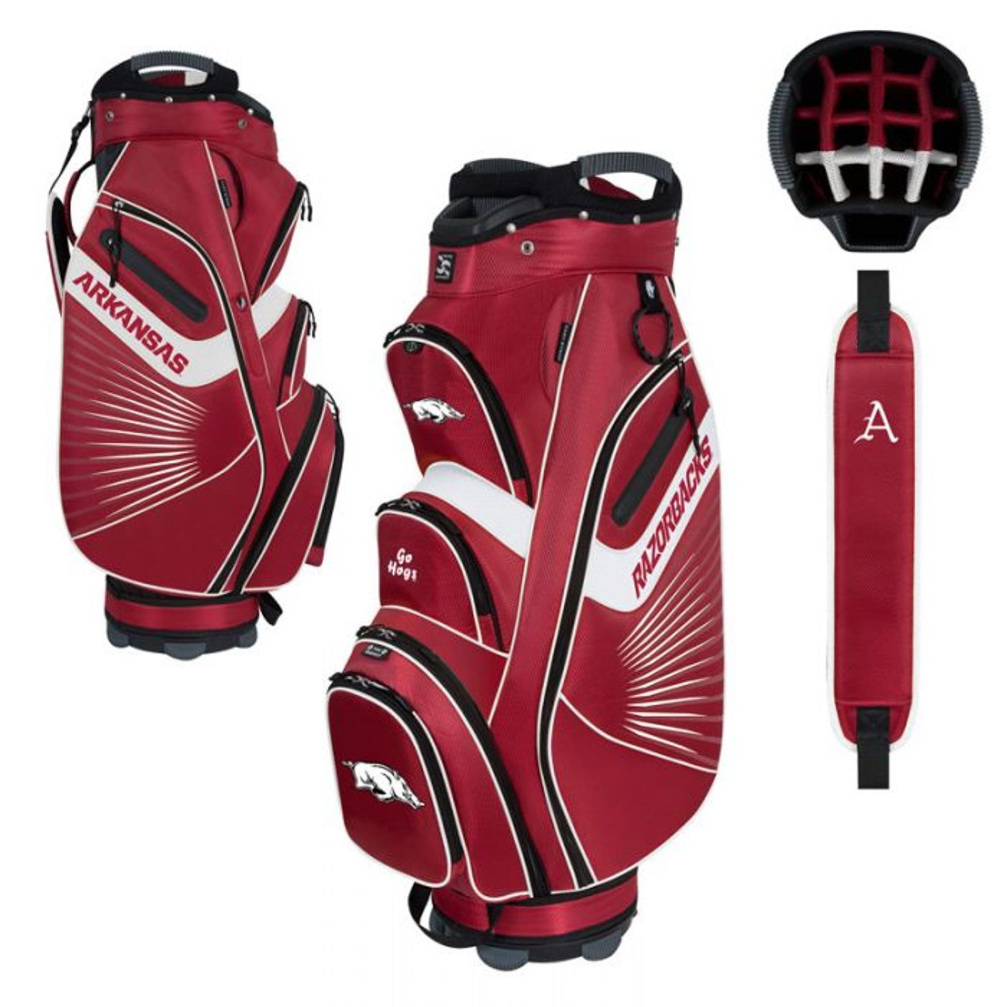 image of: Arkansas Razorbacks Cart Golf Bag
