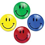 SMILEY MAGNETS