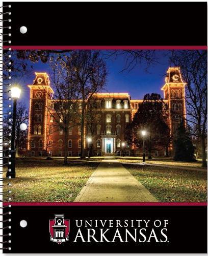 University of Arkansas Roaring Springs Old Main 1-Subject Notebook